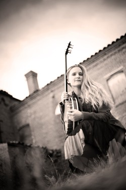 UTAH ACOLYTE:  SLO County's own Erin Inglish will play both local Utah Phillips tribute shows and accompany Duncan on The Long Memory 2015 Winter Tour. - PHOTO COURTESY OF ERIN INGLISH