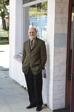 "NORTH AND SOUTH:  John Laird said Northern Santa Barbara County Democrats chuckled as he described to them the scope of the district, explaining areas north and around the Monterey Peninsula. ""There might not be a community of interest between Saratoga and Santa Maria, but there are common issues,"" he said. - PHOTO BY STEVE E. MILLER"