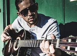 WALLZ OF SOUND :  Pop, rock, reggae, and soul singer-songwriter Jahny Wallz returns to Frog and Peach on Dec. 10. - PHOTO COURTESY OF JAHNY WALLZ