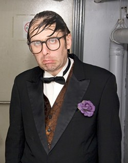 FUNNY MAN :  Demented rock'n'roll comedian Neil Hamburger hits Downtown Brew on Aug. 15. - PHOTO COURTESY OF NEIL HAMBURGER