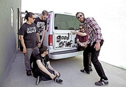 TRUTH BOMBERS :  Andrew Jackson Jihad brings its subversive folk-punk to SLO Brew on April 8. - PHOTO BY LISA JOHNSON