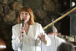 """DYNAMIC DUO :  Charlie and Sandi Shoemake have been bringing their famous jazz friends to the Hamlet for 17 years. On Nov. 30, the Shoemakes play their annual year-end """"all alone"""" concert at the Cambria restaurant and bar. - PHOTO BY STEVE E. MILLER"""