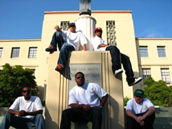 THEY GOT YOUR BACK :  Local hip-hop collective Public Defendaz drops their debut album on June 11 during a free album release party at Cheap Thrills. - PHOTO COURTESY OF PUBLIC DEFENDAZ