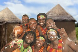 OUT OF AFRICA :  The African Showboyz play Otter Rock on April 7. - PHOTO COURTESY OF THE AFRICAN SHOWBOYZ