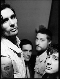 ANGST-DRENCHED :  Emo-pop rockers All American Rejects hit SLO Brew on Jan. 18. - PHOTO COURTESY OF ALL AMERICAN REJECTS