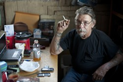 MARKED? :  Family and friends of Jim Eickholdt allege a fruitless September narcotics raid on his home was payback for speaking out against the Sheriff's Department after the 2003 in-custody death of friend Jay Vestal. - PHOTO BY STEVE E. MILLER