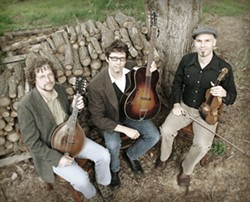 Awesome bluegrass act Little Black Train plays a CD release party on Feb. 6 at the Red Barn. - PHOTO COURTESY OF LITTLE BLACK TRAIN