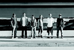 GET READY TO SKANK! :  Reggae, ska, and rock act Nada Rasta kicks of the first SLO Concerts in the Plaza concert on June 10 at 5:30 p.m. in Mission Plaza. - PHOTO COURTESY OF NADA RASTA