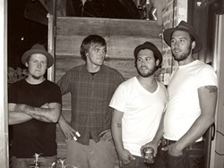 HIRE THEM FOR YOUR NEXT WAR! :  Blackwater Union, a new band in town, plays Jan. 21 at The Clubhouse and Jan 24 at the Frog and Peach. - PHOTO COURTESY OF BLACKWATER UNION