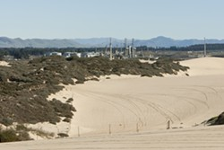 RAIL EXTENSION:  Phillips 66, which operates the Santa Maria refinery in unincorporated South San Luis Obispo County, is preparing to ask the county to allow it to extend an existing rail line in order to bring in additional sources of crude oil. - PHOTO BY STEVE E. MILLER