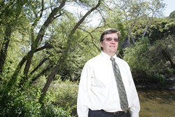TAKING HEAT :  Public Works Director Paavo Ogren recently defended himself publicly after claims that he is in bed with civil engineering company Montgomery Watson Harza. - PHOTO BY STEVE E. MILLER