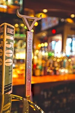 ON TAP:  Enjoy Toro Creek Brewing Co.'s beer in select SLO County bars, like here at Mother's Tavern. - PHOTO BY KAORI FUNAHASHI