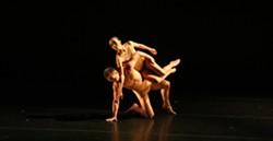 """LAMENT :  Tadej Brdnik and Fang-Yi Sheu in Bulareyaung Pagarlava's """"Pagarlava Variation."""" - PHOTO COURTESY OF THE MARTHA GRAHAM DANCE COMPANY"""
