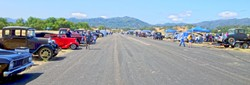 START YOUR ENGINES!:  Once a year, the Santa Margarita Ranch airstrip hosts FAST time trials. - PHOTO BY GLEN STARKEY
