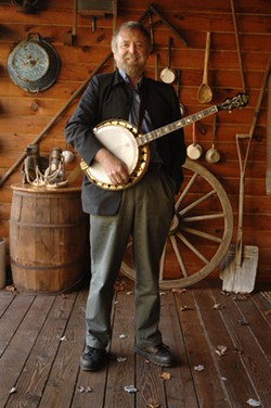 BANJO MAN :  Mick Moloney (pictured) and Athena Tergis appear in St. Benedict's Church on March 16. - PHOTO COURTESY OF MICK MOLONEY