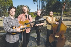 WAY COOL :  The Waybacks bring a modern sensibility to old time music, the perfect sounds for a Father's Day, on June 21 at Stack Stone Cellars. - PHOTO COURTESY OF THE WAYBACKS