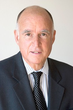 NOT SO FAST :  As SLO county residents and officials argue among themselves over new language regarding big solar projects, they'll also have to address the concerns of California Attorney General Jerry Brown. - PHOTO COURTESY OF THE OFFICE OF THE ATTORNEY GENERAL