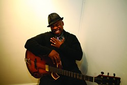 JAZZMAN:  The SLO County Jazz Federation brings award-winning guitarist Terrence Brewer to Unity Concert Hall on Jan. 17. - PHOTO COURTESY OF TERRENCE BREWER