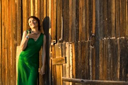 TORCH SONG TEMPTRESS :  Tucson-based, French-born chanteuse Marianne Dissard will perform songs from her gorgeous debut album L'Entredeux (In Between Two) on Oct. 13 at the Steynberg Gallery. - PHOTO COURTESY OF MARIANNE DISSARD