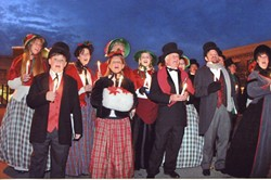 BRING THEM SOME FIGGY PUDDING! :  The Village Carolers are one of several groups performing at the Clark Center on Dec. 18 for the fourth annual Arroyo Grande Rotary Club Community Christmas and Holiday Sing-Along. - PHOTO COURTESY OF THE VILLAGE CAROLERS