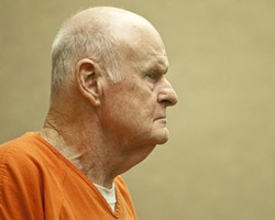 MORIARTY'S MEA CULPA:  After professing his innocence for more than a year, alleged $22 million Ponzi-schemer Al Moriarty pleaded no contest on Aug. 4. The plea agreement will send him to county jail for a limited time and transfer all of his assets for purposes of restitution. - FILE PHOTO BY STEVE E. MILLER