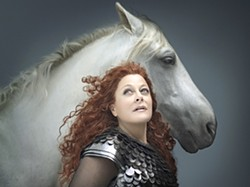 """HORSE AND ME :  Die Walküre, the next installment in Wagner's """"Ring"""" series, graces the PAC via simulcast this spring. - PHOTO COURTESY OF CAL POLY ARTS"""