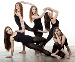 CORE STRENGTH:  CORE, which stands for Creative Original Raw Energy, brings a veritable dance buffet to the Spanos Theatre with Rhythms. The show, an eclectic mix of tap, jazz, and contemporary ballet, is a tribute to American Dance founder Pat Jackson. - PHOTO BY MICHAEL HIGGINS