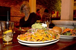 NACHOS!:  Gratuitous nachos shot because, you know, we ate nachos. - PHOTO BY STEVE E. MILLER