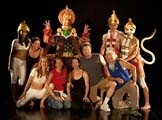 ROYGBIV :  Boxtale Theatre Company's interpretation of the ancient Indian tale, Ramayana, features all manner of deities and demons. - PHOTO BY ISAAC HERNANDEZ