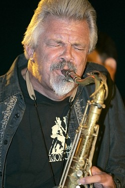 BLOW, TERRY, BLOW :  Chicago-born Saxophonist Terry Hanck is returning to town for the next SLO Blues Society show on Oct. 30 at the SLO Vets Hall. - PHOTO BY A. ROSEN