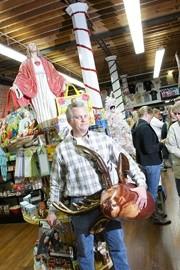 IRREVERENT:  Kirk Psenner recently opened KwirkWorld in downtown SLO. - PHOTO BY STEVE E. MILLER
