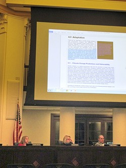FINE-TOOTHED COMBS:  Atascadero City Council strips language from Draft Climate Action Plan. - PHOTO BY JONO KINKADE
