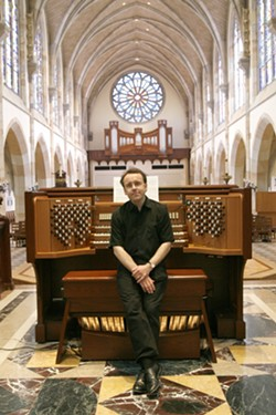 ORGAN MASTER :  Britain's David Briggs, an internationally renowned organist who's built a worldwide reputation as an innovative musician and dazzling performer, plays May 14 in the PAC. - PHOTO COURTESY OF DAVID BRIGGS