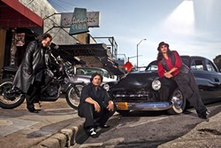 TAKE THE RIDE:  Los Lonely Boys (pictured) bring their Texican sound to the PAC along with opening act The Dunwells on Feb. 26. - PHOTO COURTESY OF LOS LONELY BOYS