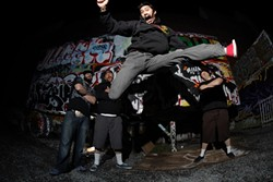 LET'S PARTY! :  Santa Cruz act The Expendables plays SLO Brew on April 18 and 19. - PHOTO COURTESY OF THE EXPENDABLES