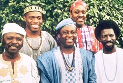 EXPERIENCE THE HIGHLIFE :  The West African Highlife Band will play the highlife and Palmwine music of Ghana and Nigeria at Castoro Cellars on July 18. - PHOTO COURTESY OF THE WEST AFRICAN HIGHLIFE BAND