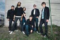 THE RED PILL :  Flobots will wake you from your slumber on May 17 at SLO Brew. - PHOTO COURTESY OF FLOBOTS