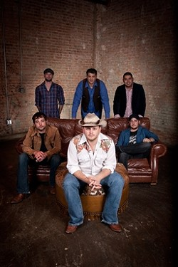 HOWDY, TEX:  On July 24, country act The Josh Abbott Band will play SLO Brew to deliver his great narrative tunes that'll have you tapping your Ariats and Durangos. - PHOTO BY TODD PURIFOY