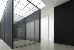 Robert Irwin's current exhibition Double Blind at Secession in Vienna, Austria - PHOTOGRAPHY ©2013 PHILIPP SCHOLZ RITTERMANN