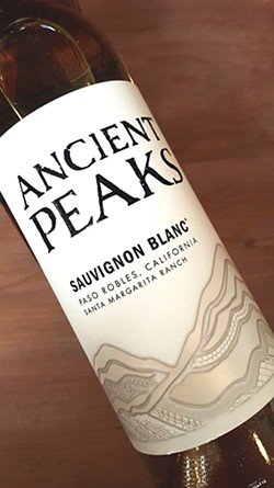 SOIL STRATA:  Because soil quality is integral to Ancient Peaks wines, Makers & Allies has highlighted both the morros and lines that represent various soils. - IMAGE COURTESY OF MAKERS & ALLIES