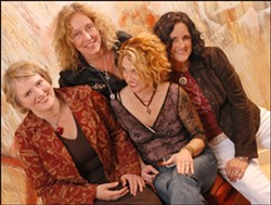 GRRLS ROCK! :  The SheBANG Music Festival happens on Oct. 17 at Lago Giuseppe Winery with an all-star line-up, including Blame Sally. - PHOTO COURTESY OF BLAME SALLY
