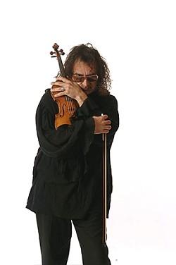 SERIOUS FIDDLIN' :  The Candle Light Strings Quartet features violin soloist Salvador Garza Herrera in Santa Maria on Dec. 24. - PHOTO COURTESY OF SAL GARZA