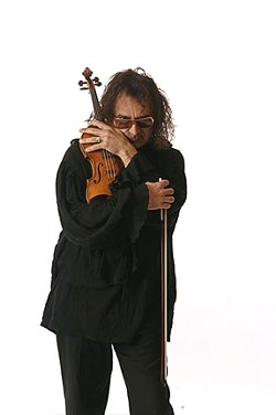 SERIOUS FIDDLIN' :  The Candle Light Strings Quartet features violin soloist Salvador Garza Herrera in Santa Maria on Dec. 24. - PHOTO COURTESY OF SAL GARZA