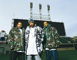 RAPPERS DELIGHT :  Bone Thugs-N-Harmony, one of rap's all-time best selling acts, plays Downtown Brew on July 25. - PHOTO COURTESY OF BONE THUGS-N-HARMONY