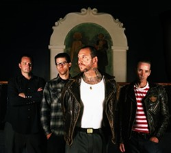 PUNK LEGENDS:  Eighties punk heroes Social Distortion play a five-band, all-day show at Pozo Saloon on Sept. 27. - PHOTO COURTESY OF SOCIAL DISTORTION