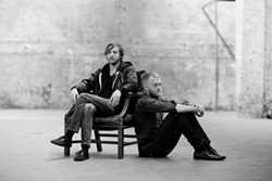 WHISPER TO A SCREAM:  On their most recent album, the Bay Area's Two Gallants move beyond their folk and blues-based sounds and return to their punk and grunge roots. See them May 9 at SLO Brew. - PHOTO COURTESY OF TWO GALLANTS
