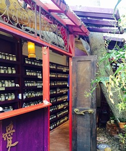 THE GREEN LIFE:  At The Secret Garden, herbs, spices, and teas are blended together to create delicious remedies that soothe, energize, and inspire. - PHOTO COURTESY OF THE SECRET GARDEN