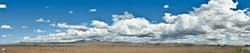NOW THAT'S A SKY:  Clouds go on forever over Greenfield, CA, in the Salinas Valley, in this panorama taken by Brian Lawler. - PHOTO COURTESY OF BRIAN LAWLER