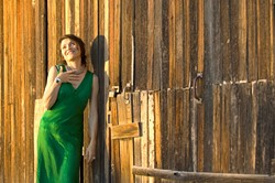 TORCH SONG TEMPTRESS :  Tucson-based, French-born chanteuse Marianne Dissard will perform songs from her gorgeous debut album L'Entredeux (In Between Two) on April 28 at the Steynberg Gallery. - PHOTO COURTESY OF MARIANNE DISSARD