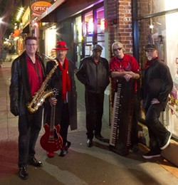 NOLA SOUNDS! :  Burning James & the Funky Flames play Earth Day on April 21 to deliver a set of their New Orleans sounds. - PHOTO BY DEAN SULLIVAN